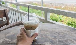 Eiskaffee Lizenzfreies Stockfoto