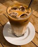 Eiskaffee 2 Stockbild