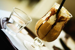 Eiskaffee Stockfoto