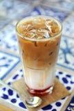 Eiskaffee lizenzfreie stockbilder