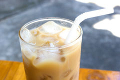 Eiskaffee Lizenzfreies Stockbild