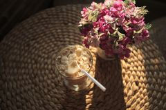 Eiskaffee Lizenzfreie Stockfotografie