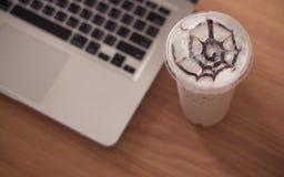 Eiskaffee Lizenzfreie Stockfotos