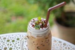 Eiskaffee Stockfotos