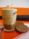 Eiskaffeemilchshake lizenzfreies stockfoto