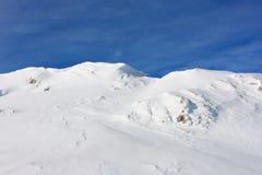 Eiskalte Wüste Stockfoto