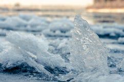 Eiskanten. stockbild
