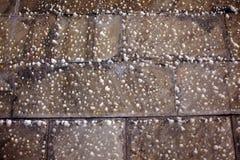 Eiskristall-Handelsministerium nach Schnee Gleichstrom Lizenzfreie Stockfotos