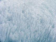 Eiskristalle Stockfotografie