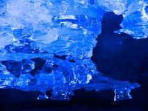 Eiskristalle Stockfoto