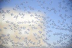 Eiskristallzusammenfassung Lizenzfreies Stockbild