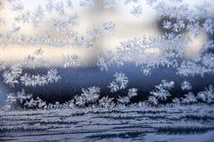 Eiskristallzusammenfassung Lizenzfreie Stockfotografie