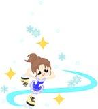 Eiskunstlauf Stockbild
