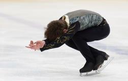 Eiskunstlaufwettbewerbe Stockfotografie