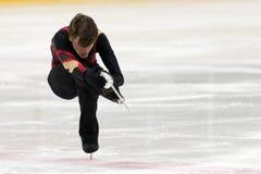 Eiskunstlaufwettbewerbe Lizenzfreies Stockbild