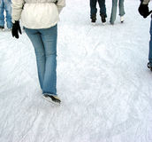 Eislauf Lizenzfreie Stockfotos