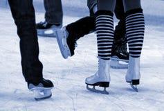 Eislauf Stockbild