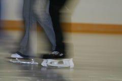 Eislaufenpaare Stockbild