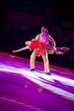 Eislaufenpaare Maxime Marinin u. Anastasia Volochkova Lizenzfreie Stockbilder