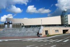 Eislaufmitte in Kolomna, Russland Lizenzfreies Stockbild