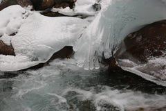 Eismuster stockfoto