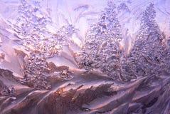 Eismuster Stockbild