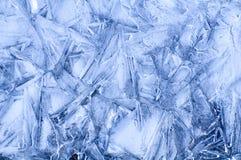 Eismuster Stockfotografie