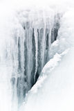 Eismuster und -zeilen Stockbilder