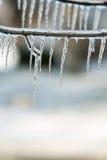 Eisregen Stockbild