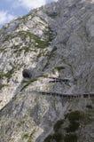 Eisriesenwelt: Werfen-Eis-Höhle. Österreichisch lizenzfreies stockbild