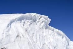 Eissperre in der Antarktis Stockfotografie