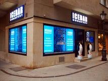 Eisstab Budapest/Jegbar Budapest lizenzfreie stockfotos