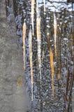 Eisstruktur Stockfoto