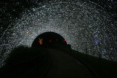 Eistunnel Lizenzfreies Stockbild