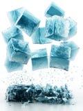 Eiswürfel Lizenzfreie Stockfotografie