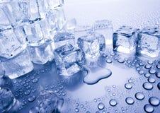 Eiswürfel stockbild