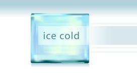 Eiswürfel auf einem weißen Hintergrund lizenzfreie abbildung