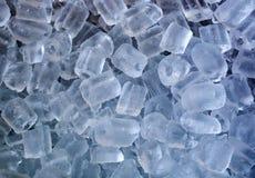 Eiswürfel-Kältemuster Stockfoto
