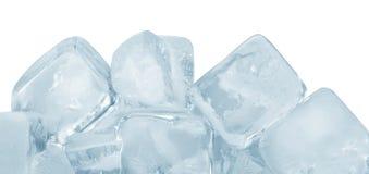 Eiswürfelgruppe stockbild