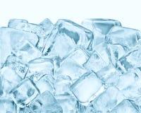 Eiswürfelgruppe lizenzfreies stockbild
