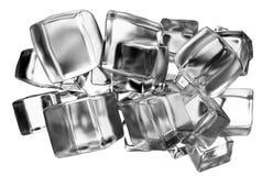 Eiswürfelkonzept stock abbildung