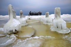 Eiswüste Lizenzfreie Stockfotografie