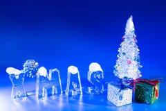 Eisweihnachten Stockfotos