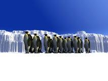 Eiswelt 12 Stockbild