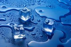 Eiswürfel Stockfoto