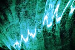 Eiszahl Abschluss oben, die Oberfläche wird von beleuchtet Lizenzfreies Stockfoto