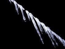 Eiszapfen stockfoto