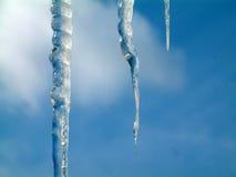 Eiszapfen Stockfotografie