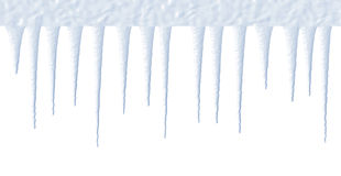 Eiszapfen lizenzfreie stockfotos