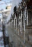 Eiszapfen Stockbild
